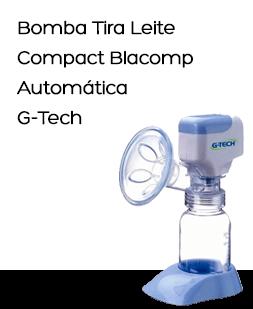 Bomba Tira Leite G-Tech Compact Blacomp, Automática
