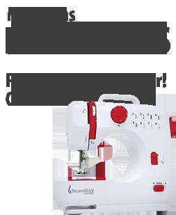 Máquinas Domesticas para Bordar e Costurar!