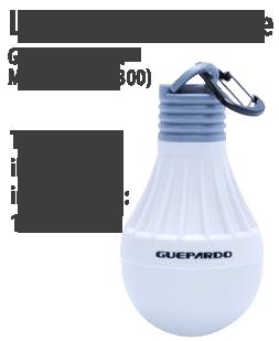Lâmpada Inteligente Guepardo Tent Megalite (LC0300)