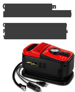 Compressor de ar com Indicador de Pressão, Fusível, Chave liga/desliga - 12V/220V DUO PLUS - SCHULZ