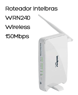Roteador Intelbras WRN240 Wireless 150Mbps - 4005053
