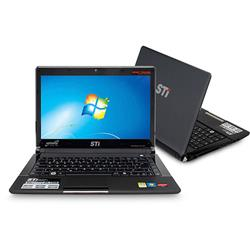 "Mania Virtual Notebook SEMP TOSHIBA 13,3"" LED, Intel� Dual Core, 2GB de mem�ria, HD 320GB, Web Cam, Entrada HDMI, Windows 7 Starter - STI Infinity AS1301"