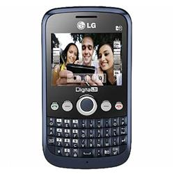 Mania Virtual LG X350 Azul, Celular desbloqueado, Dual Chip, QWERTY c/ C�m 2MP, TV Digital, MP3, R�dio FM, Bluetooth e Fone de Ouvido