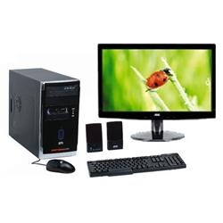 "Mania Virtual Computador Intel Pentium Dual Core E5800, 2gb De Mem�ria, Hd 500gb, Dvdrw Linux - Semp Toshiba + Monitor Aoc Led 15.6"" E1621sw, Widescreen"