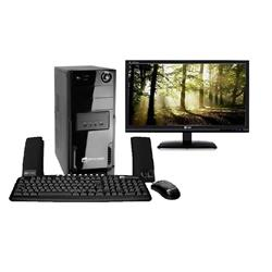 "Mania Virtual Computador Space Br Intel Atom A525 Dual Core 1,80ghz, 2gb De Mem�ria, Hd 320gb, Dvd-Rw, Linux + Monitor 15,6"" Led Lg - E1641s"